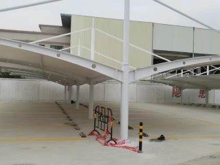 潮州港华燃气集团大型膜结构停车棚